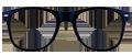 Matte Black plastic frames + TINT INCLUDED, MODEL: DOM221, SIZE: 53-20 (OVERSIZED STYLE)