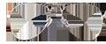 Silver metal aviator frames + TINT INCLUDED Model: JMP400 Size: 50-17