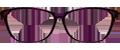 Dark Purple/Pink plastic frame + TINT INCLUDED, SIZE: 52-17 MODEL: DOM225