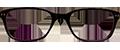 Dark Purple/Purple frame (SPRING SIDES) + TINT INCLUDED, MODEL: KZ104, SIZE: 46-17
