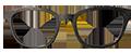 Black wood finish DESIGNER frame (SPRING SIDES)+ TINT INCLUDED, MODEL: rtro333, SIZE: 48-20