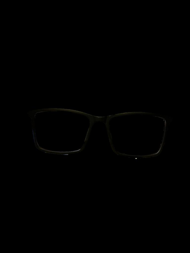 Black plastic/silver DESIGNER frame (SPRING SIDES)+ TINT INCLUDED, Size: 53-16 Model: E111
