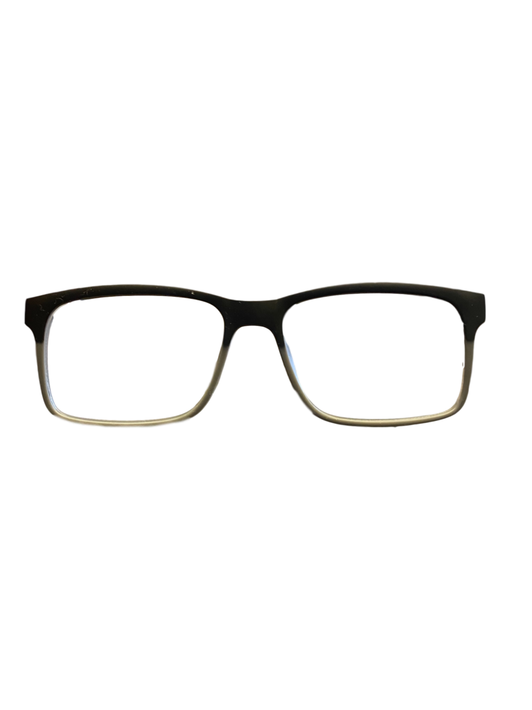Black and Grey plastic frame + Tint Included Model: DOM 231 SIZE: 54-17
