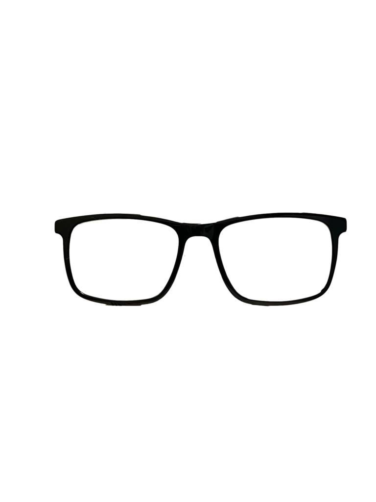 Green/Charcoal plastic frames (SPRING SIDES)+ TINT INCLUDED, Size 53-17 Model ST113