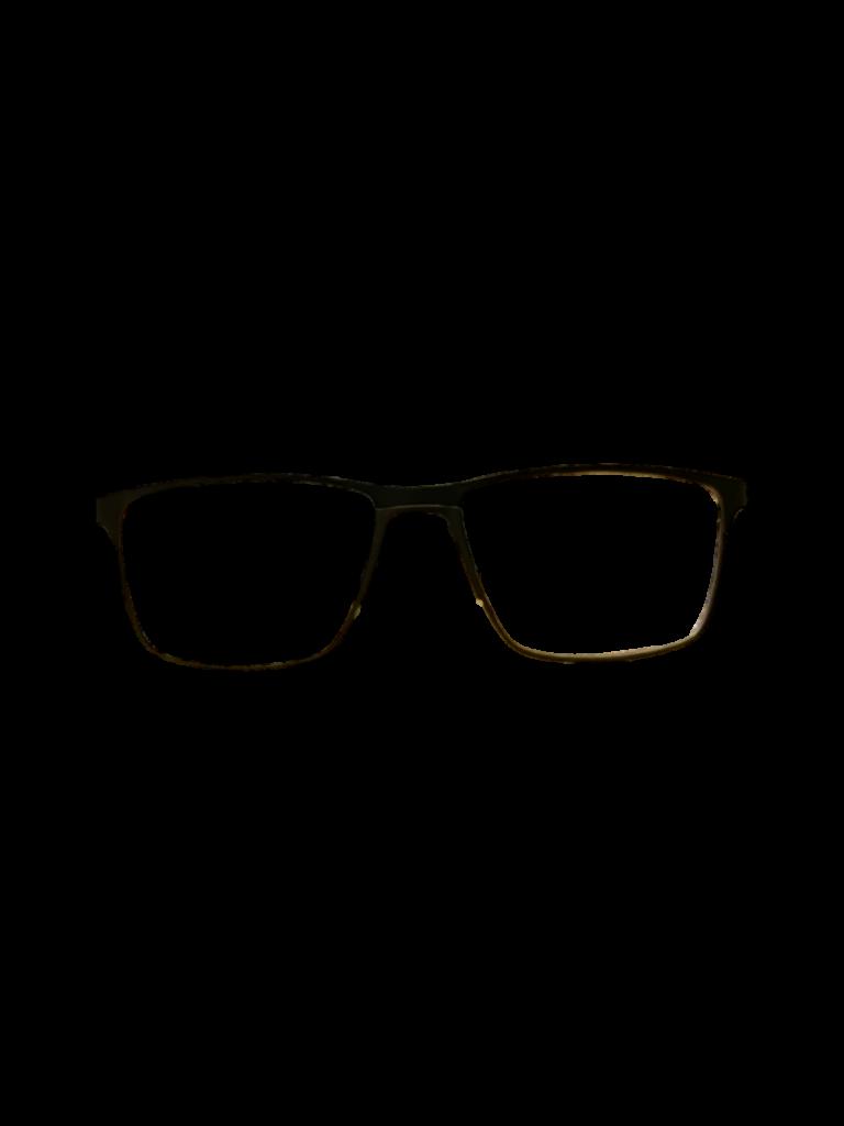 Black metal frames (SPRING SIDES)+ TINT INCLUDED, Size 53-16 Model ST115