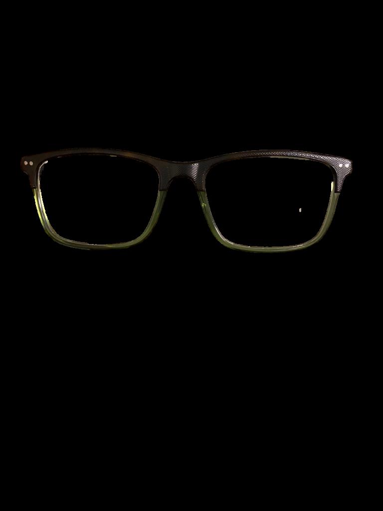 Black/Olive Plastic Paul Costelloe DESIGNER frames + TINT INCLUDED, Model: 5233 SIZE: 54-17