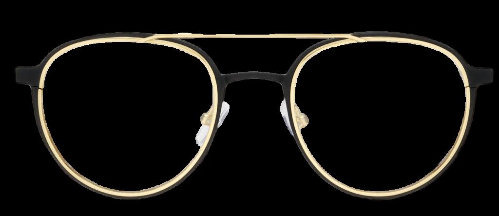 Black Titanium DESIGNER frame (SPRING SIDES) + TINT INCLUDED, Size: 51-21  Model: Registro 06 003