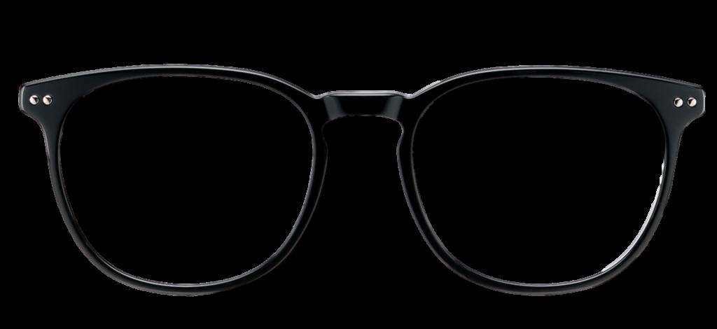 Black Crystal plastic DESIGNER frame + TINT INCLUDED, Size: 52-19  Model: Tratto 12 7C5 + 2 YR WARRANTY
