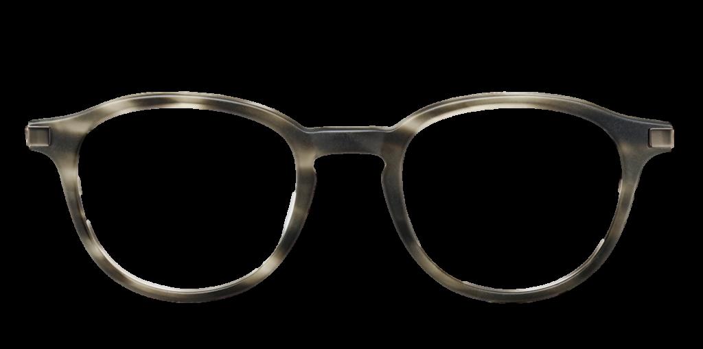 Mottled Grey plastic DESIGNER frame/Metal sides (SPRING SIDES) + TINT INCLUDED, Size: 49-21 Model: Calibro 03 581 + 2 YEAR WARRANTY