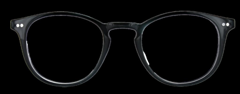 Black Crystal plastic frames  + TINT INCLUDED, MODEL: PLT 52, SIZE: 47-21