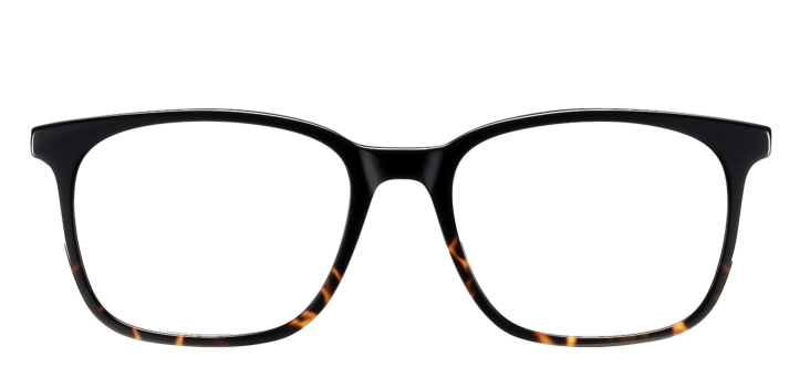 Black plastic DESIGNER frame (SPRING SIDES) + TINT INCLUDED, Size: 54-19 Model: Lastra 07 WR7 + 2 YEAR WARRANTY