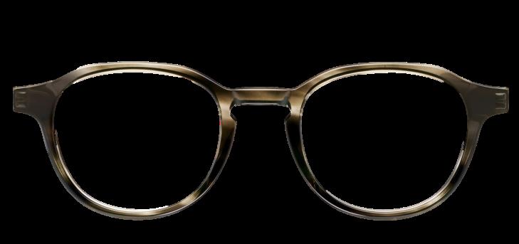 Crystal Dark Grey DESIGNER frame (SPRING SIDES) + TINT INCLUDED, Size: 47-21  Model: Buratto 05 PZH
