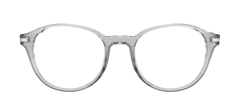 Crystal Grey plastic frames with black sides + TINT INCLUDED, MODEL: JMP616, SIZE: 46-17